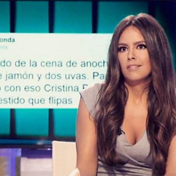 """Cristina Pedroche y mi tweet en """"Zapeando"""""""